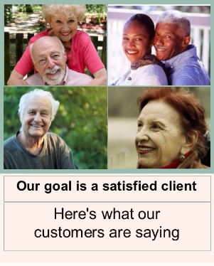 Texas Medicare satisfied clients